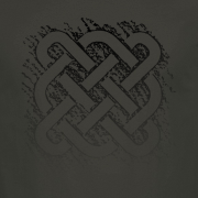 Celtic Square Graphic Charcoal Tee Shirt