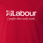 Buy Labour Corbyn Graphic Red Tee Shirt