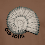 Old Fossil Graphic Brown Tee Shirt