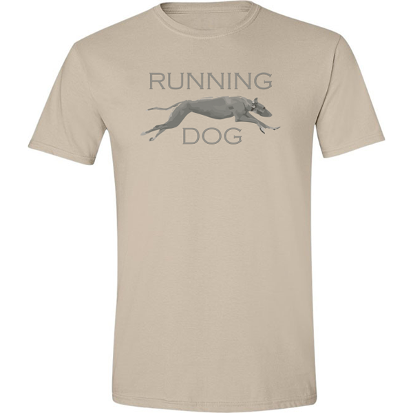 Buy Running Dog Graphic Sand Tee Shirt