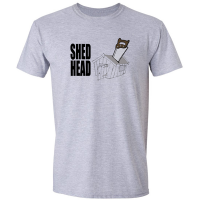 Buy Shed Head DIY Wood Saw Graphic Sport Grey Tee Shirt