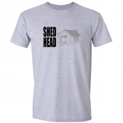 Shed Head Graphic Sport Grey Tee Shirt