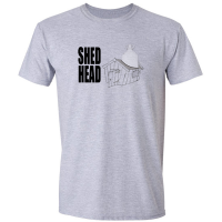 Buy Shed Head Home Brew Graphic Sport Grey Tee Shirt