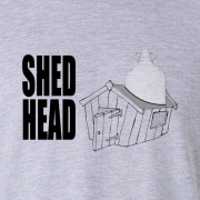 Shed Head Home Brew Graphic Sport Grey Tee Shirt