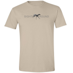 Buy Sight Hound Graphic Sand Tee Shirt