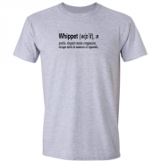 Whippet Quote Graphic Sport Grey Tee Shirt