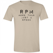 RPM Vinyl Audio Graphic Sand Tee Shirt