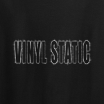 Buy Audio Vinyl Static Graphic Black Tee Shirt