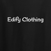 Edify Clothing 1950s Classic Logo Graphic Black Tee Shirt