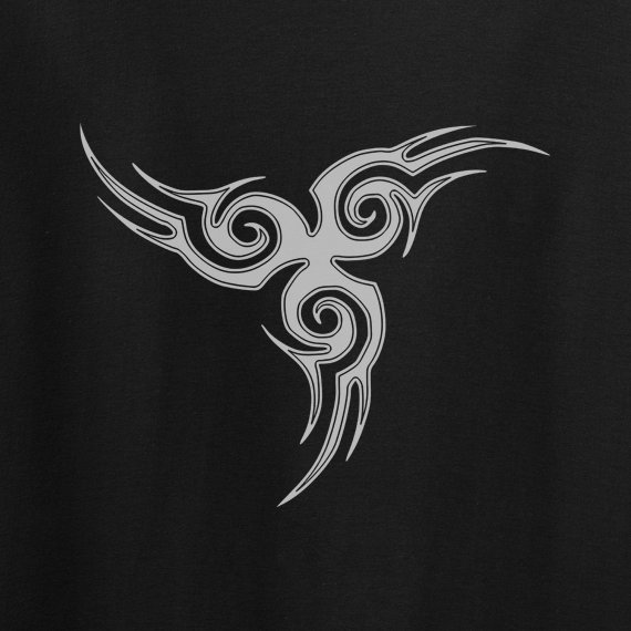 Buy Tribal Tattoo Triskellion Celtic Viking Pagan Graphic Black Tee Shirt