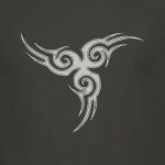Buy Tribal Tattoo Triskellion Celtic Viking Pagan Graphic Charcoal Tee Shirt