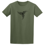 Buy Tribal Tattoo Triskellion Celtic Viking Pagan Graphic Green Tee Shirt