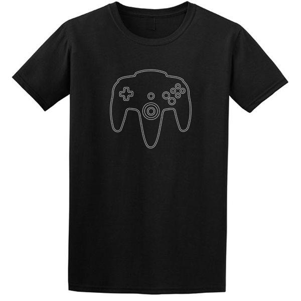 Buy Nintendo N64 video game Graphic Tee Shirt black