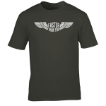 Buy Faster than you Motorcyclist speed biker Graphic Charcoal Tee Shirt