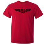 Buy Faster than you Motorcyclist speed biker Graphic Red Tee Shirt