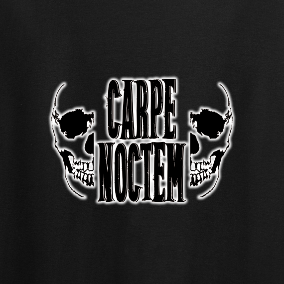 Buy Carpe Noctem Gothic Horror Alternative Graphic Black Tee Shirt