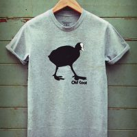 Buy Old Coot Graphic Sport Grey Tee Shirt