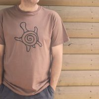 Buy Sea Turtle Graphic Brown Tee Shirt