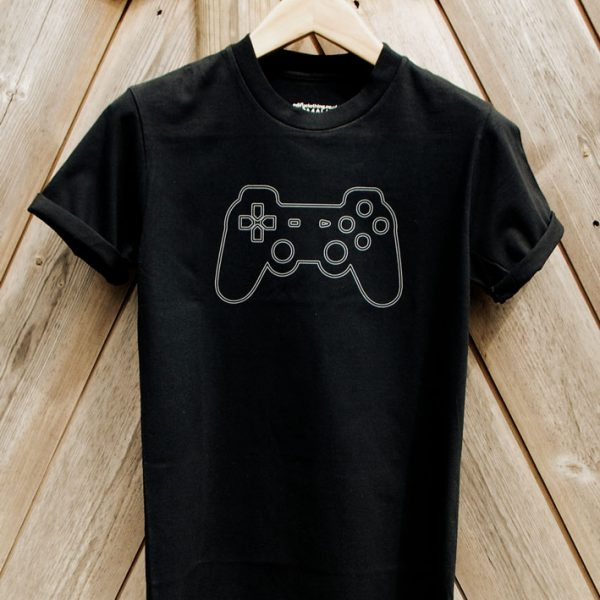Buy Sony Playstation video game Graphic Tee Shirt-black