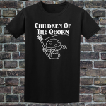 Buy Children of the Quorn Corn Vegan Vegetarian Black Graphic Tee Shirt