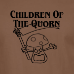 Buy Children of the Quorn Corn Vegan Vegetarian Brown Graphic Tee Shirt