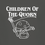 Buy Children of the Quorn Corn Vegan Vegetarian Charcoal Graphic Tee Shirt