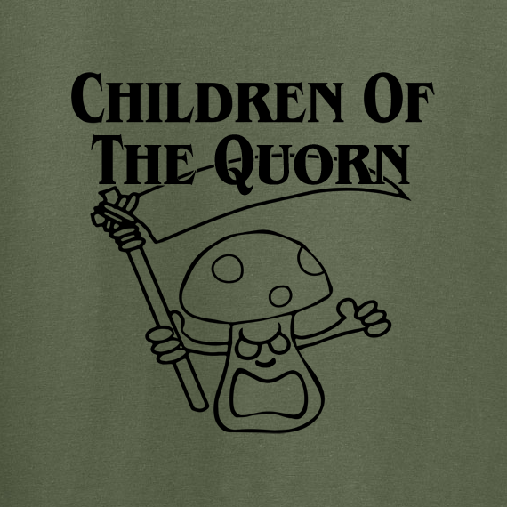 Buy Children of the Quorn Corn Vegan Vegetarian Green Graphic Tee Shirt
