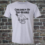 Buy Children of the Quorn Corn Vegan Vegetarian Sport Grey Graphic Tee Shirt