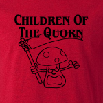 Buy Children of the Quorn Corn Vegan Vegetarian Red Graphic Tee Shirt