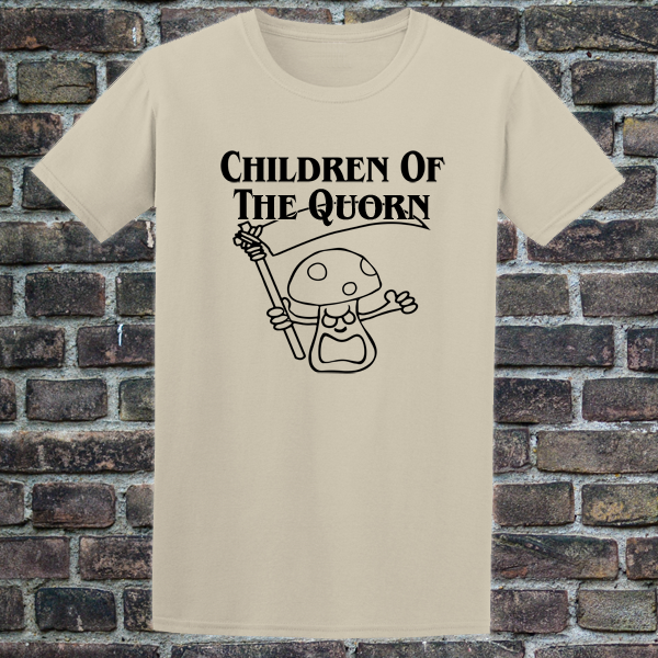 Buy Children of the Quorn Corn Vegan Vegetarian Sand Graphic Tee Shirt