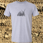 Buy Snail Pace Funny Animal Sports Graphic Sport Grey Tee Shirt
