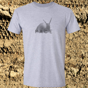 Snail Pace Funny Animal Sports Graphic Sport Grey Tee Shirt