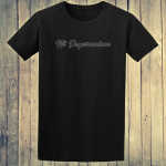 Buy Nil Desperandum No Despair No Worries Alternative Street Wear Black Graphic Tee Shirt