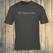Nil Desperandum No Despair No Worries Alternative Street Wear Charcoal Grey Graphic Tee Shirt
