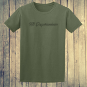 Nil Desperandum No Despair No Worries Alternative Street Wear Green Graphic Tee Shirt