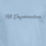 Buy Nil Desperandum No Despair No Worries Alternative Street Wear Light Blue Graphic Tee Shirt