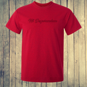 Nil Desperandum No Despair No Worries Alternative Street Wear Red Graphic Tee Shirt