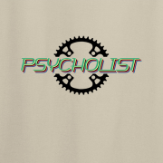 Psycholist Psycho Cyclist Tour Yorkshire France Lycra Lout Graphic Sport Sand Tee Shirt