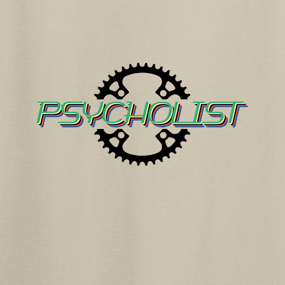 Buy Psycholist Psycho Cyclist Tour Yorkshire France Lycra Lout Graphic Sport Sand Tee Shirt