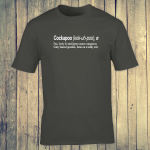 Buy Cockapoo Dog Funny Dictionary Quote Graphic Charcoal Tee Shirt