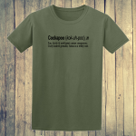 Buy Cockapoo Dog Funny Dictionary Quote Graphic Green Tee Shirt