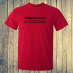 Buy Cockapoo Dog Funny Dictionary Quote Graphic Red Tee Shirt