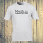 Buy Cockapoo Dog Funny Dictionary Quote Graphic White Tee Shirt
