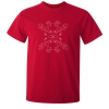 Buy Chicken Egg Portuguese Tile Antique Red Graphic T Shirt