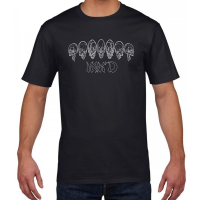 Buy Inked Tattoo Arch of Skulls black graphic t shirt